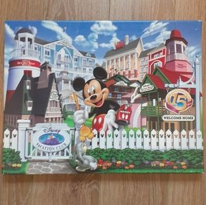 Mickey Mouse Picture on Canvas.